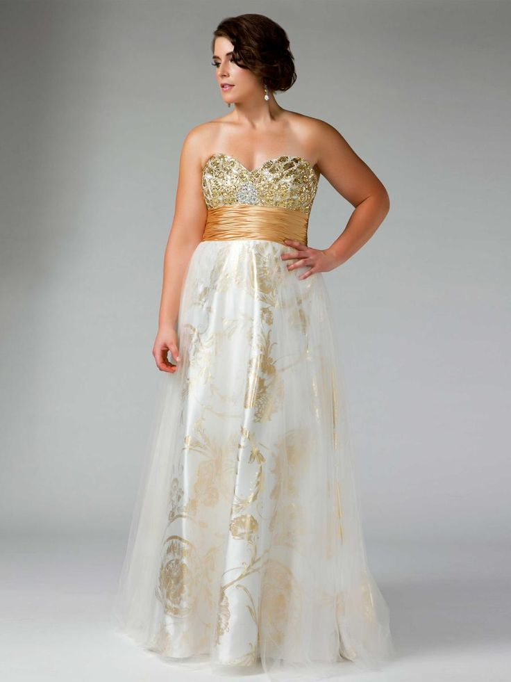 65 Best Plus Size Prom Dresses Images On Pinterest Party Wear