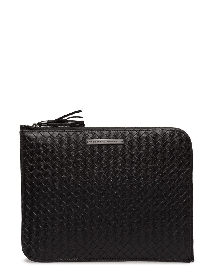DAY - Day Braided Ipad Basket weave texture Full zip closure Functional Sophisticated