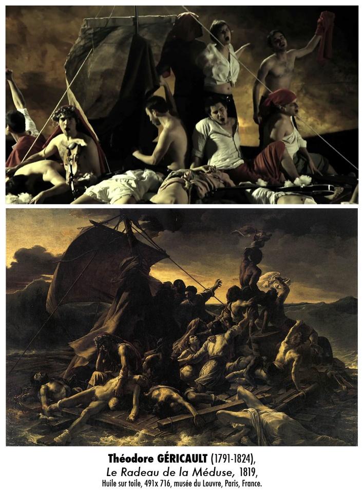 Référence n°6 : Théodore Géricault, Le Radeau de la Méduse.