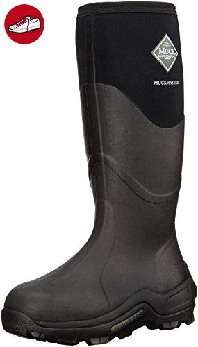 Muck Boot Muckmaster Wellington Boots - Moss, Black, 6 UK - Stiefel für frauen (*Partner-Link)