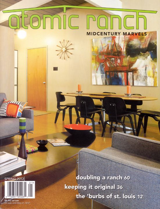 This new issue of the magazine has a feature story about Ladue Estates, in Creve Coeur, MO.