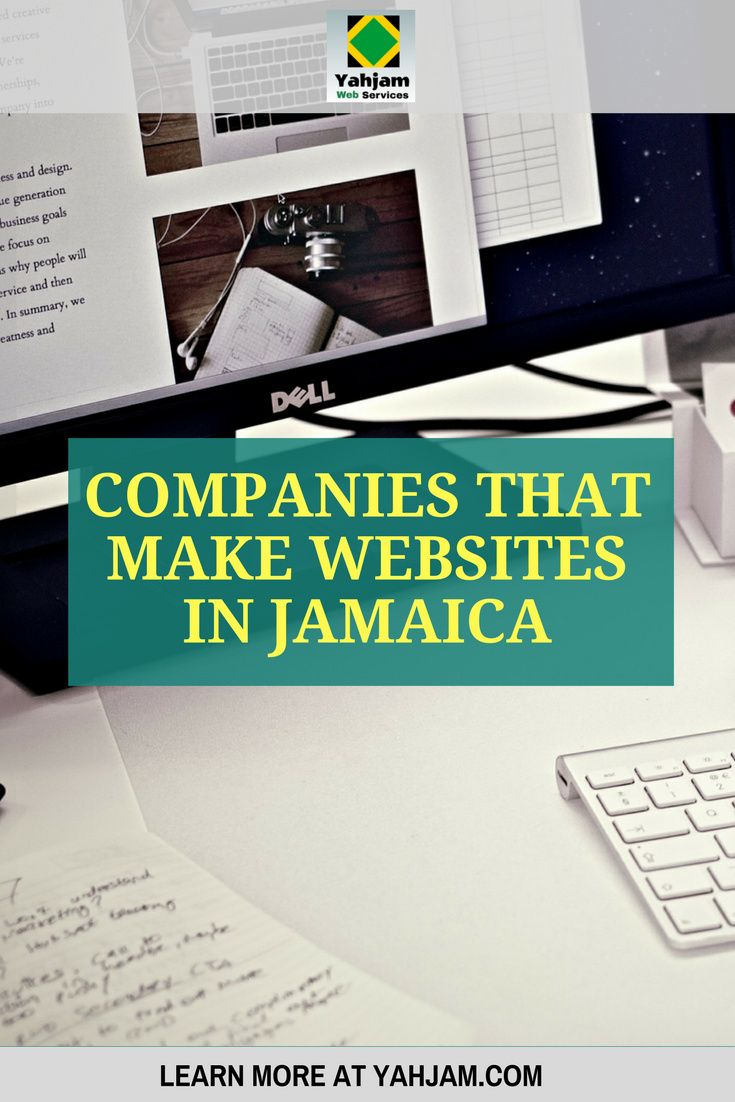 A List of 10 Companies that Make Websites in Jamaica