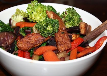 Meatless Monday: Crispy Tempeh & Vegetable Stir Fry | Reboot With Joe