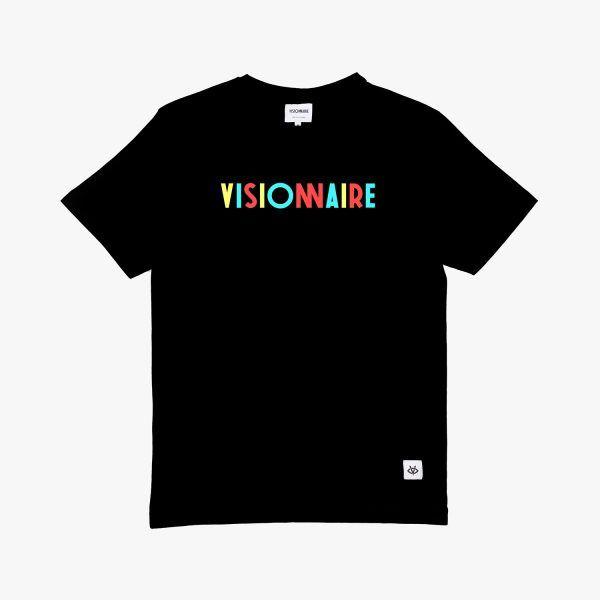 T-Shirt Visionnaire Noir Bigflo et Oli