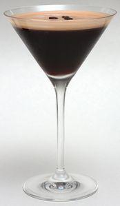 Expresso Martini..no creme!