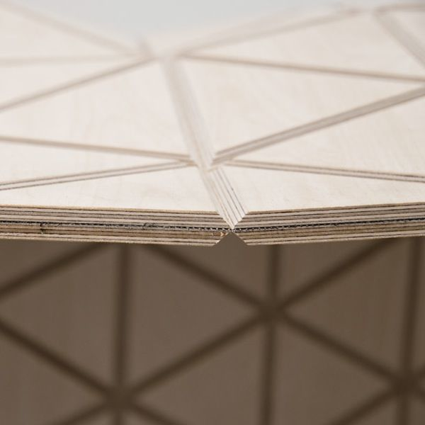 Design Studio Creates Flexible, Textile-Like Wood Material - DesignTAXI.com