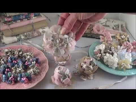 Vintage Shabby Chic Flowers - YouTube