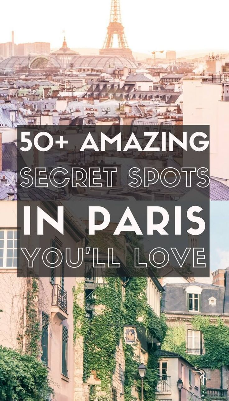 50+ amazing, quirky and unusual offbeat Paris destinations you'll love! Interesting and offbeat things to do in the city of love, Paris, France!