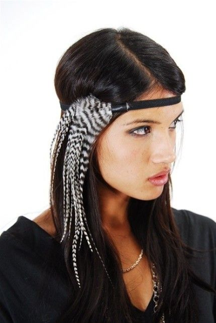 Cute feather headband for any day this summer. Visit Beauty.com for more summer hair accessories.