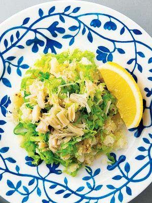 ポテトサラダに帆立味が与える、 おいしい驚き。 『ELLE a table』はおしゃれで簡単なレシピが満載!