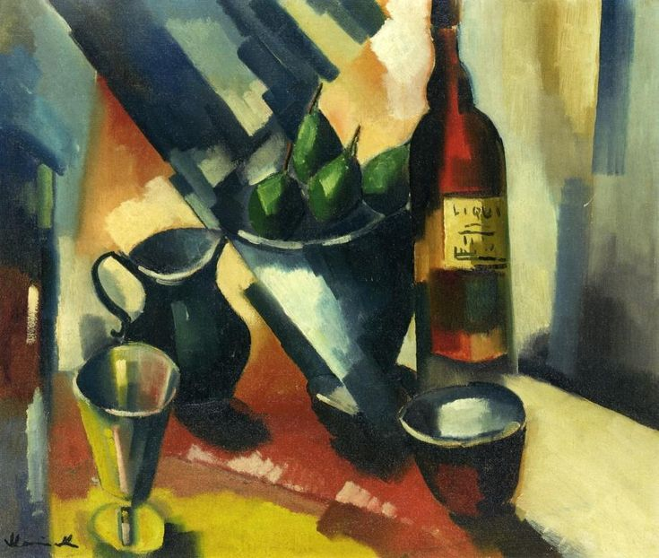 Still Life with Pears by Maurice de Vlaminck