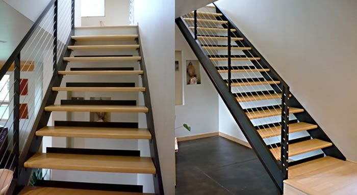 Our latest challenge: Modern Stairs