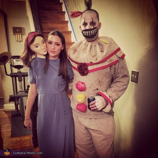 american horror story freakshow halloween costume contest via costume_works - Couple Halloween Costumes Scary