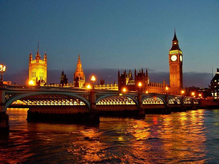 Parlamento de Londres  Esta edificación también se conoce como Parlamento Británico, la cual no es más que una institución legislativa que tiene soberanía parlamentaria en los territorios Británicos de Ultramar y en el Reino Unido.