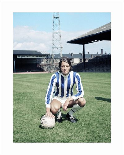 Huddersfield Town footballer Frank Worthington.July 1970. by Dewhurst