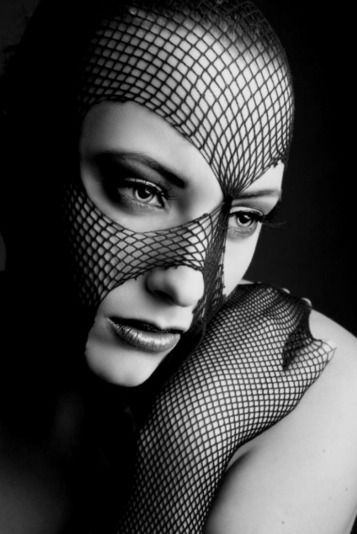 Eve Grey: B W, Black Face, Eve Grey, Black White, Posts, Masks Hide, Mysterious Masks, Fishnet Mask, Black N White Beauty