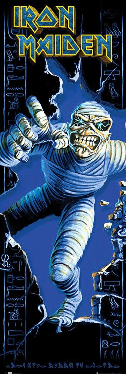 Where ever we can get hard#iron maiden poster art | IRON MAIDEN - pharaoh posters | art prints \m//
