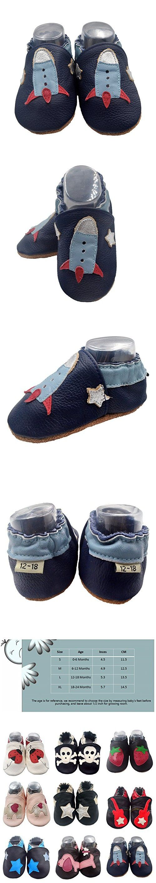 IEvolve Baby Shoes Rocket Baby Toddler Soft Sole Prewalker Baby First Walking Shoes Crib Shoes Baby Moccasins(Navyblue Rocket, 18-24 Months)