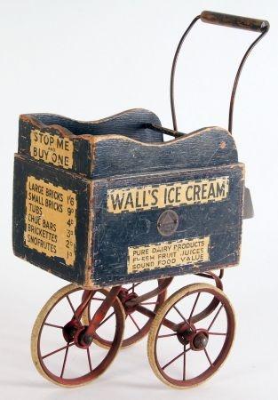 Ice cream vendor cart