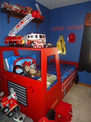 64 best Fireman bedroommaybe images on Pinterest Fireman