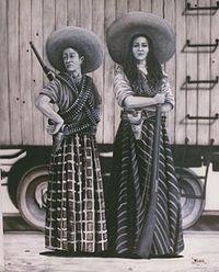"""La Adelita"": Mexican Warrior Woman of the Mexican Revolution."