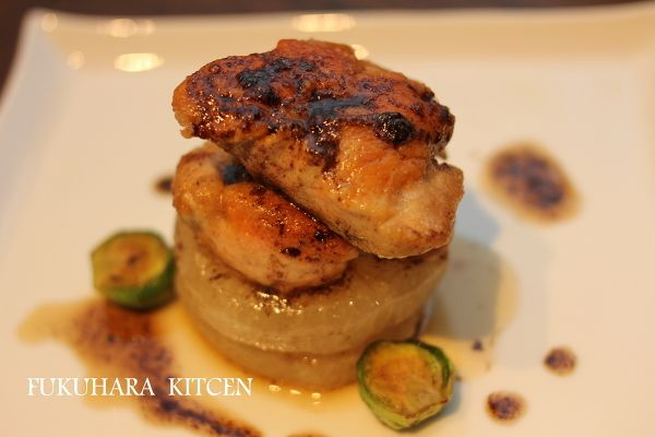 洋風あん肝大根 バルサミコソースで by ゆりりん / レシピサイト「ナディア / Nadia」/プロの料理を無料で検索