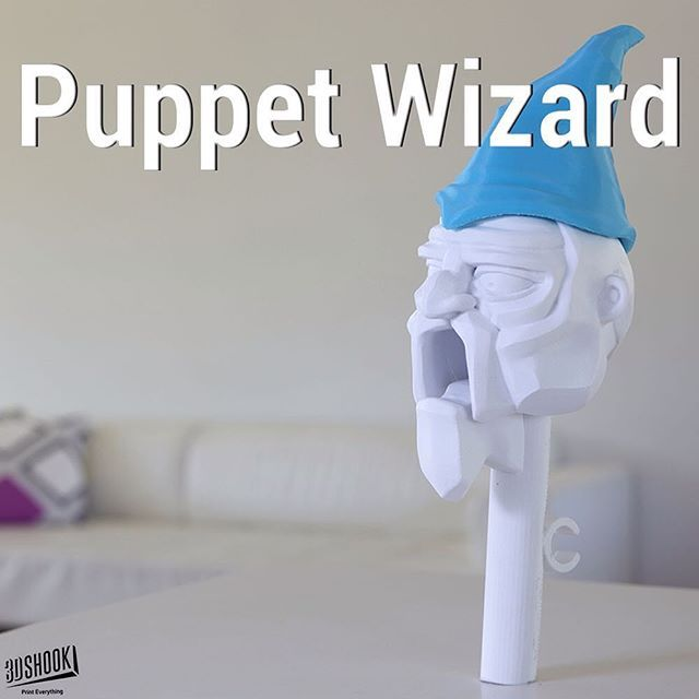 """@3dshookcollections's photo: """"the PUPPET collection - our talking puppet heads...kids and adults love it!!! At 3DShook we remember Home Theatre has """"Home"""" in it. Check us out at www.3dshook.com #3dprint #3dmodels #3dprinted #3dprinter #3dprinting #PrintEverything #makers #makermovement #makersgonnamake #tech #technology #puppet #puppets #puppetshow #puppettheatre #kidstuff #halloween #hunter #design #disney #marionette #puppeteer #wizard #wizardofoz"""""""