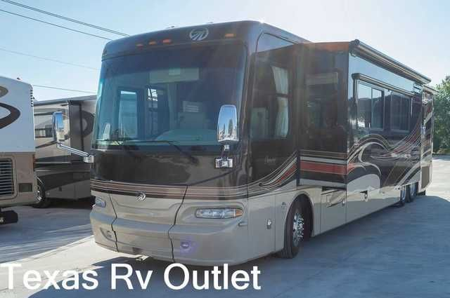 2008 Used Monaco Camelot Class A in Texas TX.Recreational Vehicle, rv, 2008 Monaco Camelot That's right folks, It's a camelot! Do you want the highest quality in a camping experience? Look no further. Monaco is outstanding at building motorhomes with family experience being top priority. This specific model features an absolutely stunning floor plan that optimizes all kinds of storage. Also equipped with the most versatile outdoor kitchen that ranges from turkey fries to crawfish boils, or…
