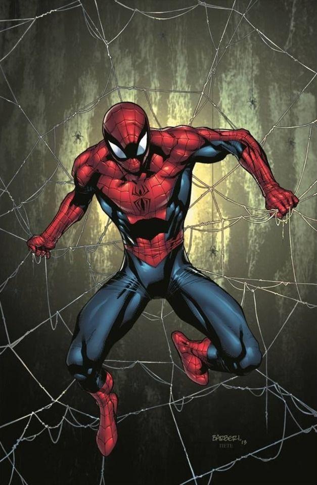 персонажи из комиксов человек паук