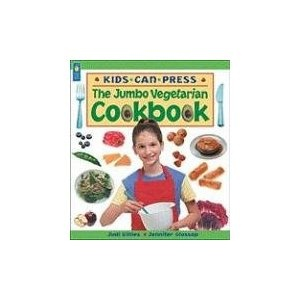 The Jumbo Vegetarian Cookbook, written by Jennifer Glossop & Judi Gillies and illustrated by Louise Phillips