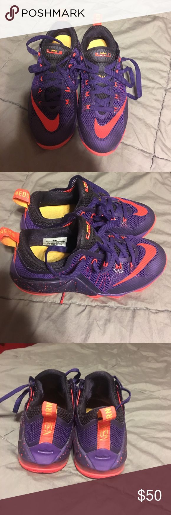 Boys Nike KD sneaker- 3.5Y Boys Nike KD sneaker- 3.5Y. Great condition. Nike Shoes Sneakers