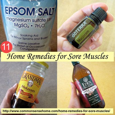 ❤ 11 Home Remedies For Sore Muscles ❤