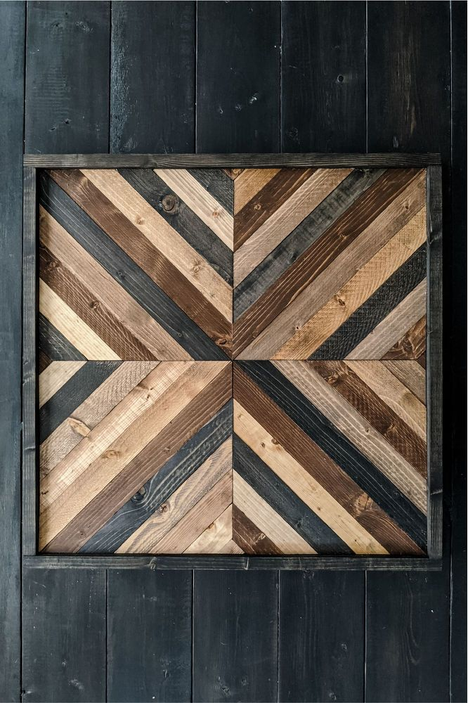 Easy Diy Pottery Barn Inspired Art Idea In 2020 Diy Wood Wall