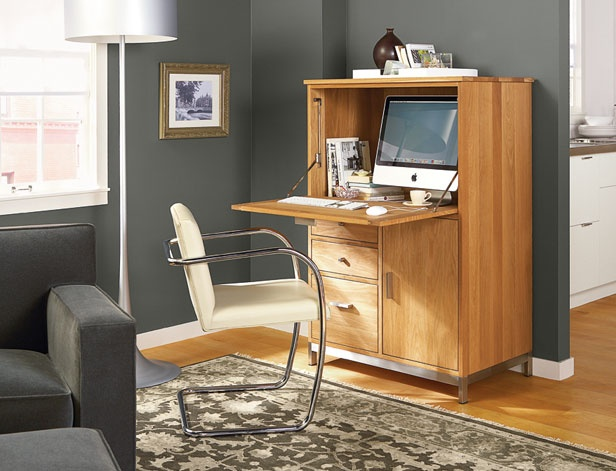 neat storage for an occasional office modern office office deskslaptop