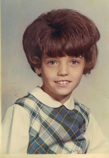 Most Terrifying #Childhood #Hairstyles.  On To The Bigger Things. We're not sure what decade this photo was taken, but we sure hope it was before the '70s. If it was past the '80s, then it's hard to not be disappointed in the personal tastes of parents around the world.