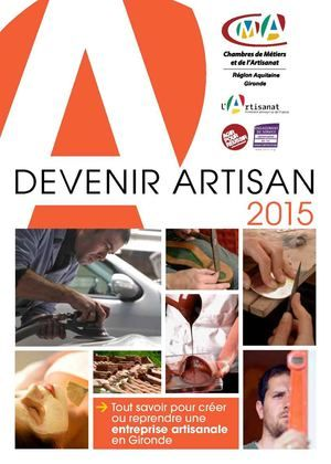 Devenir Artisan en 2015 http://www.calameo.com/read/002260583cca5386f4763