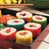 East meets West when Mr. Food takes armchair travelers to the Far East, where sushi reigns! His fun-filled kid-friendly dessert sushi will please the youngster and the young at heart!