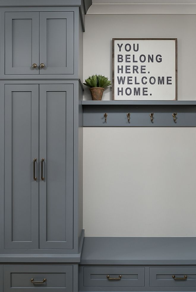 Boothbay Gray By Benjamin Moore Cabinet Paint Color Boothbay Gray By Benjamin Moore Boothbayg Dining Room Renovation Kitchen Cabinet Colors Wall Decor Bedroom
