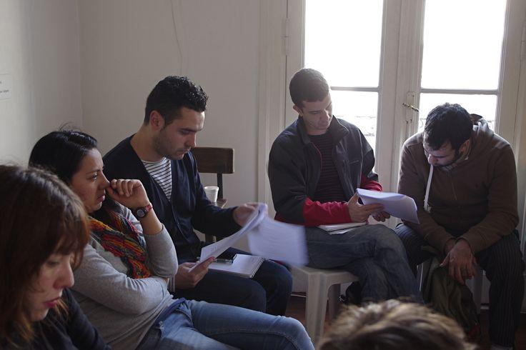 CLÍNICA DE OBRA #panoramasur 2013 / Taller de producción del texto teatral, dirigido por Alejandro Tantanian