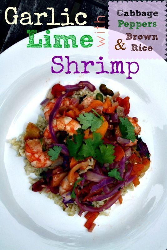 Garlic Lime Shrimp {Gluten & Dairy Free} | Foodie Fresh