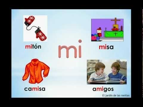#1 Sílabas ma me mi mo mu - Syllables with M