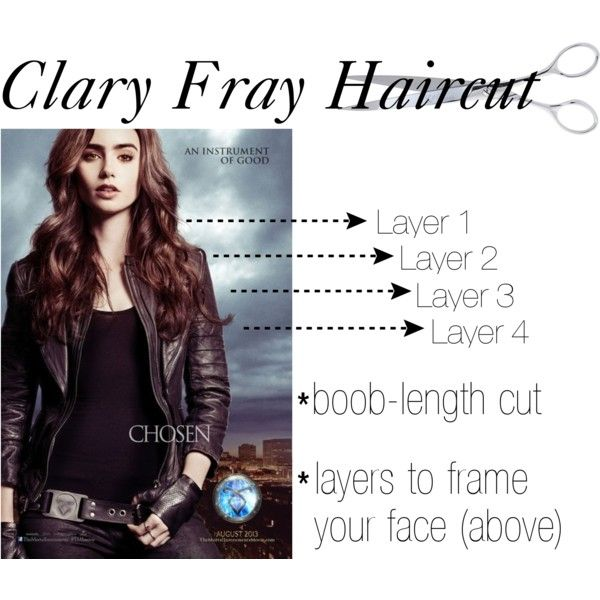 The hair cut is pretty awesome, not necessarily a fan of the fact it's called the Clary Fray Haircut lol