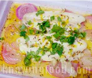 Baked cream dory recipe from  http://www.knowingfood.com/seafood/baked_dory_lemon_sauce.html