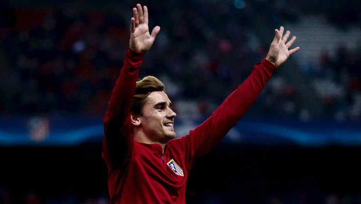 atletico madrid's antoine griezmann reveals the four players he would idolise if he was a supporter