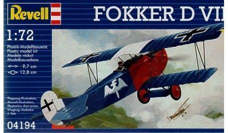 Revell - 4194 - Maquette d'avion / Aircraft Model kit - Fokker D.VII -1/72
