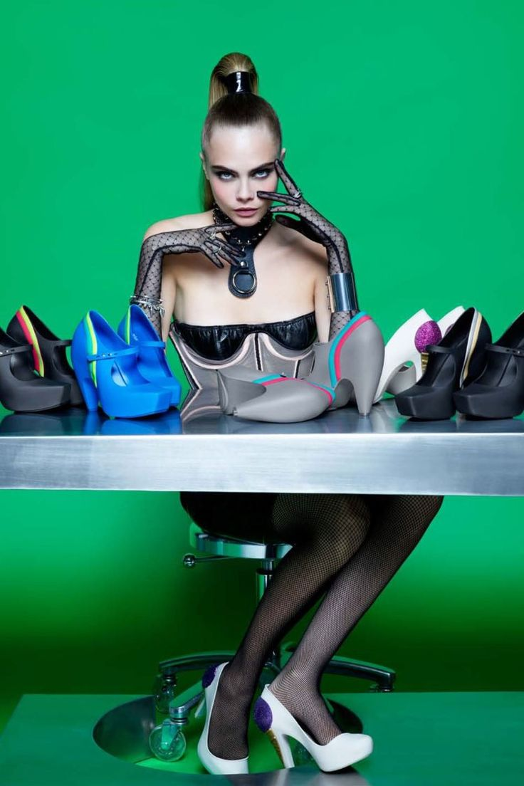 UPDATED: Cara Delevingne by Karl Lagerfeld for Melissa Magazine 2013