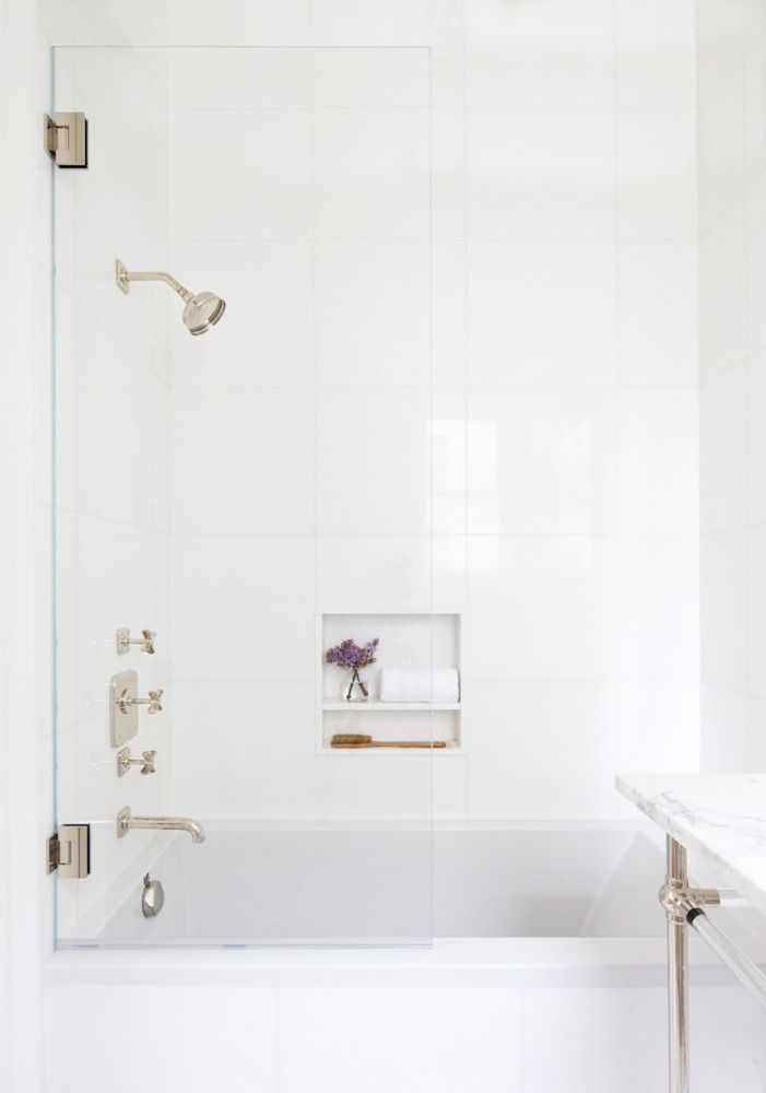 Learn how to perfect the marble bathroom at domino.com