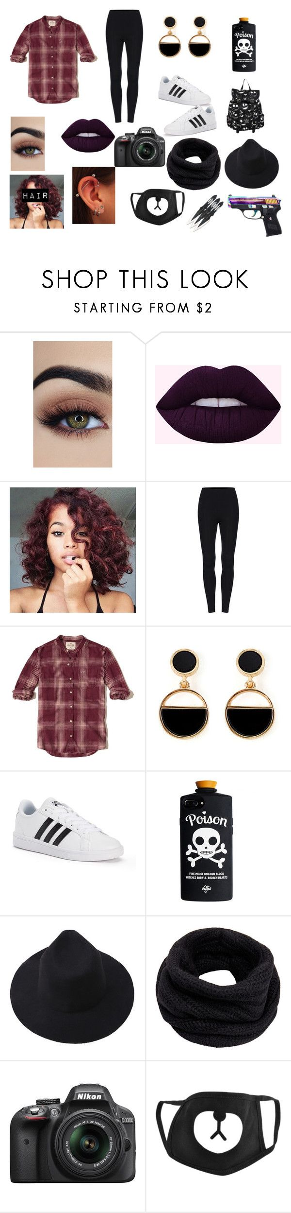 """""""Untitled #49"""" by diamondlove1223 on Polyvore featuring Hollister Co., Warehouse, adidas, Helmut Lang, Victoria's Secret, Nikon, men's fashion and menswear"""