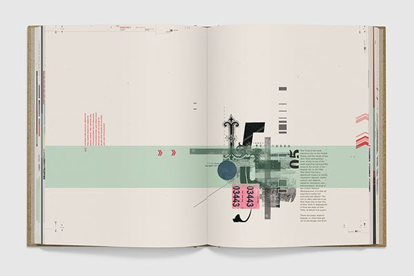 RE Typography Book by Amanda Day, via Behance