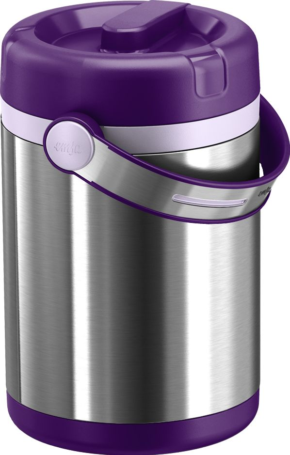 Termos obiadowy Mobility 1,7L (fiolet) - EMSA - DECO Salon #thermos #dinnerware #forwork #journey